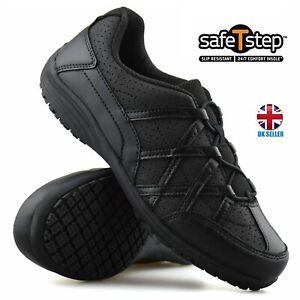 Ladies Memory Foam Nurse Walking Work Non Slip Womens Trainers Shoes UK Size 3-9