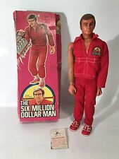 Vintage Six 6 Million Dollar Man Colonel Steve Austin Figure 1975 Original Box