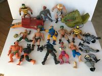 He-Man MOTU PARTS LOT, Masters of the Universe 1980's 2000's