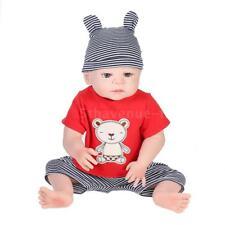 Main Silicone Reborn bébé poupées réaliste poupée garçon jouets vinyle 22 pouces