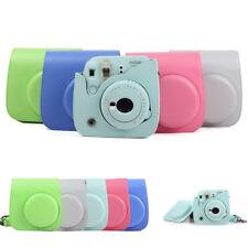 For Fujifilm Fuji Instax Mini 8 9 Instant Camera PU Leather Bag Carry Cover Case