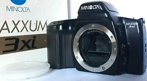 CAMERA > MINOLTA MAXXUM 3Xl - Body only + Box and Instructions - Lithium Battery