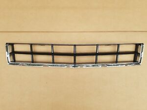 fits 2010-2012 CADILLAC SRX Front Bumper Lower Bottom Grille Black & Chrome NEW