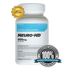 Neuro-HD - Best Brain Supplement for Focus, Memory and Concentration