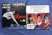 2 Single Udo Jürgens Mayerling Ich bin wieder da ARIOLA 12350 Sunset Orchester