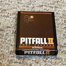 PITFALL II 2 LOST CAVERNS 1984 ATARI 2600 Video Game Activision Works Tested
