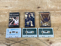 Rod Stewart Cassette Tapes x3 Never A Dull Moment Atlantic Crossing And Every P