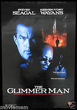 THE GLIMMER MAN Steven Seagal Original ROLLED Australian one sheet Movie poster