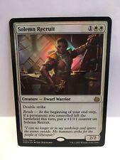 Solemn Recruit FOIL MTG Magic the Gathering Aether Revolt NM-MT