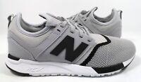 New Balance Men's MRL247SI Sneaker Grey/Black Size 8