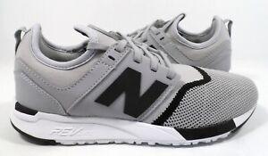 New Balance Men's MRL247SI Sneaker Grey/Black Size 9.5