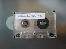 10 kHz Azimuth Einstell-Kassette zur Tonkopf-Justage Tapedeck Dolby Calibration