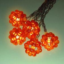 Flecha Roja Guirnalda de luces 20 piezas perlenkugel Naranja Decoración Navidad