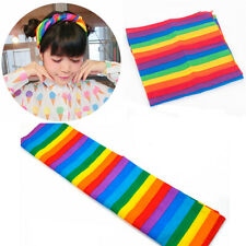 Rainbow Headscarf Bandanas Headband Pride Face Mask Neck Scarf Colorful Gift New