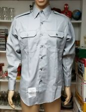 Marlow White Mens Size 15-15.5/32-33 Gray Tapered Body Long Sleeve Uniform Shirt
