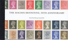 GB 2017 50th ANNIVERSARY MACHIN DEFINITIVE PRESTIGE BOOKLET SG.No.DY21