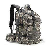Gelindo Military Tactical Backpack Army Molle Pack Bug Out Bag Hiking Gear Camo
