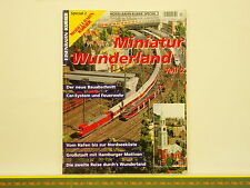 Revue MODELLBAHN KURIER Special n°2 - Miniatur Wunderland - MiWUla Hambourg 108p