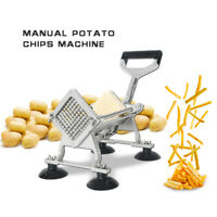 Manual Potato Chip French Machine Chip Chopper Vegetable Cutter With 3 Blades
