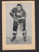 1944-63 Beehive Group II Detroit Red Wings Photos #149 Syd Abel