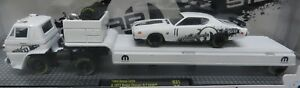 1971 HEMI DODGE BOYS CHARGER WHITE 69 SCAT PACK L600 TRUCK TRAILER MOPAR 512 M2