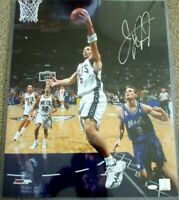 Jason Kidd signed autographed New Jersey Nets 16x20 poster size photo w/ Steiner
