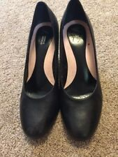 Marks and Spencer Composition Leather Mid (1.5-3 in.) Women's Heels