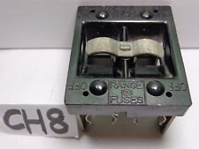 CUTLER HAMMER RANGE 60 AMP SWITCH FUSE PANEL FUSE HOLDER PULL OUT