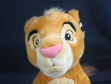 AUTHENTIC DISNEY STORE EXCLUSIVE YOUNG SIMBA LION KING PLUSH STUFFED ANIMAL TOY