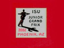2002 Phoenix ISU Junior Grand Prix Championship MINT Skating Lapel Pin - SCARCE