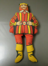 """Vintage BURGER KING Stuffed King Toy Doll Premium FN- 13.5"""" Made in USA"""