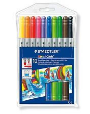 Staedtler Noris Club Fibre Tip Pens with 2 Tips 320 NWP10