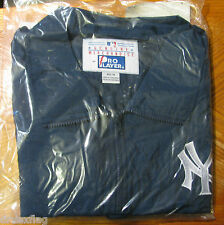 Pro Player Unisex Zippered Packable Jacket NY Yankees Logo Size M NAVY NIP TAGS