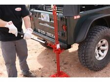 "AUTHENTIC 48"" CAST IRON HI LIFT JACK RED JEEP WRANGLER YJ TJ JK CJ-7 CJ-5"