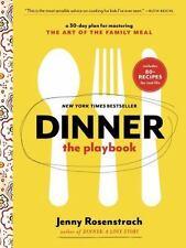 DINNER THE PLAYBOOK - ROSENSTRACH, JENNY - NEW PAPERBACK BOOK