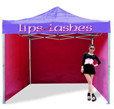 HEAVY DUTY COMMERCIAL TRADE STAND PRINTED GAZEBO FAST DELIVERY MARQUEE TENT