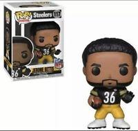 Funko POP! NFL Legends Steelers JEROME BETTIS #117 Vinyl Figure with protector