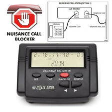 US Fast Shipping Pro LCD Incoming Call Blocker Telephone Defense 1500 Blacklist