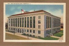Trenton,Nj New Jersey, Post Office Building, circa 1933