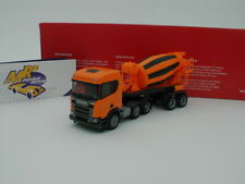 "Herpa 309004-Scania CR XT baja techo hormigoneras-SZ ""kommunalorange"" 1:87"