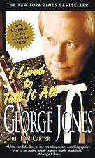 I Lived to Tell it All by George Jones (Paperback)