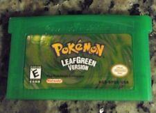 Pokemon Leaf Green English Reproduction Game Boy Advance GBA