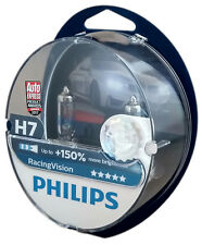 H7 PHILIPS Racing Vision +150%  lampe automobile PX26d deux ampoules 12972RVS2