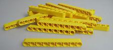 LEGO® Technic 20x Liftarm 1 x 9 NEU 40490 Lochbalken in gelb aus Set 8043 42030
