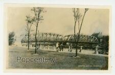 Vintage Photograph China 1932 Shanghai Garden Bridge Soochow Creek Sharp Photo