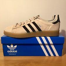Adidas Originals Campus Trainers, mens, BNIB, UK 11, cream suede/black stripes