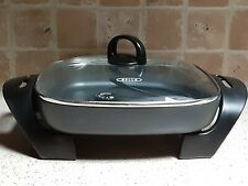 Bella 12 inch Electric Skillet with Glass Cover: unused