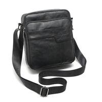 Men Genuine Leather Shoulder Bag Crossbody Messenger Travel Retro Bags Purse