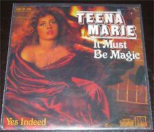 "Teena Marie, It must be magic, VG/VG++ 7"" Single 0851-7"