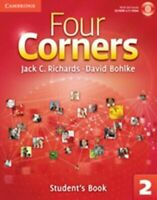 Jack C. Richards - Four Corners Level 2 Students Book with Self-study CD-ROM